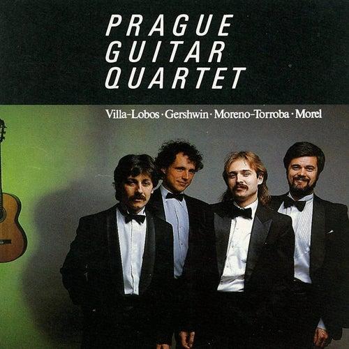 Villa-Lobos, Gershwin, Torroba, Morel: Prague Guitar Quartet by Prague Guitar Quartet
