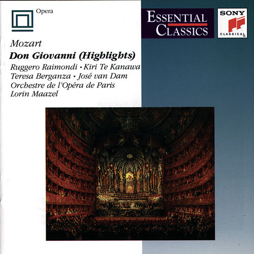 Don Giovanni (Highlights) de Wolfgang Amadeus Mozart