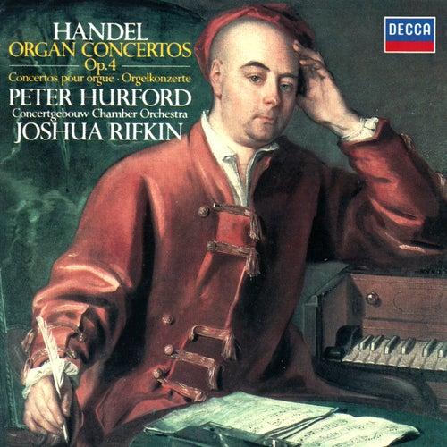 Handel: Organ Concertos, Op. 4 de Peter Hurford