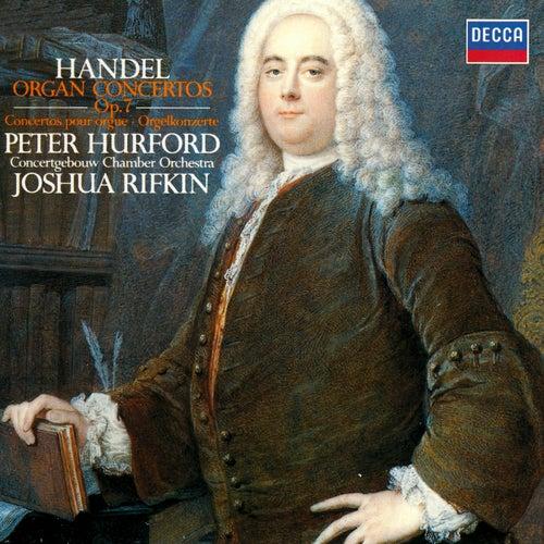 Handel: Organ Concertos, Op. 7 de Peter Hurford