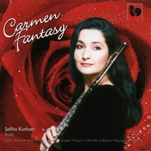 Georges Bizet, M. Ravel, C. Debussy, Gabriel Fauré, J. Ibert: Carmen Fantasy for Flute & Piano de Various Artists