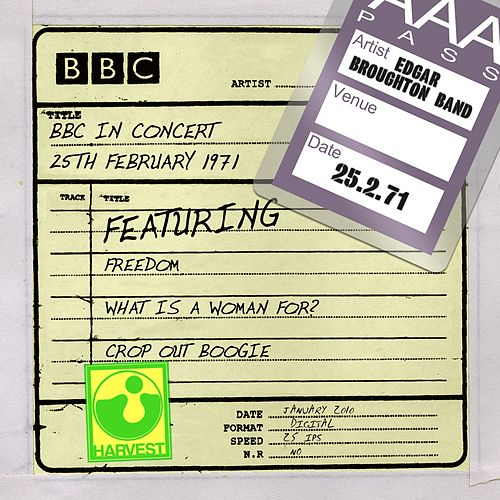 BBC In Concert (25th February 1971) de Edgar Broughton Band