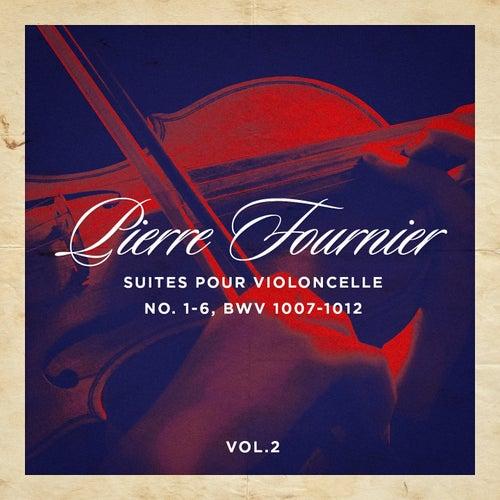 Suites pour violoncelle No. 1-6, BWV 1007-1012, Vol. 1 de Pierre Fournier