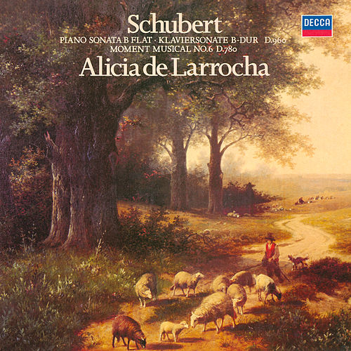 Schubert: Piano Sonata No. 21; Moment Musical No. 6 de Alicia De Larrocha