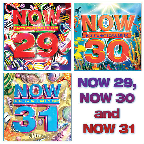 NOW That's What I Call Music 29, 30, 31 by Various Artists
