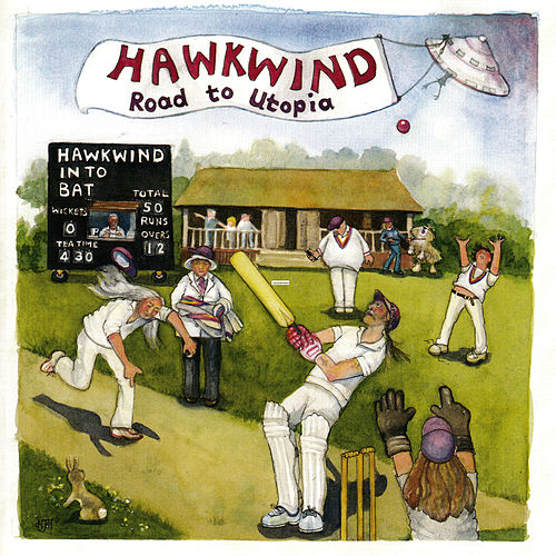 Road to Utopia by Hawkwind