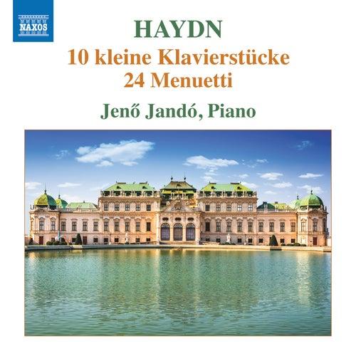 Haydn: 10 Kleine Klavierstücke & Menuetti by Jenő Jandó