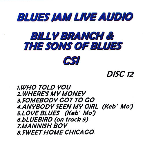 Blues Jam Live Audio: Billy Branch & The Sons Of Blues de Billy Branch