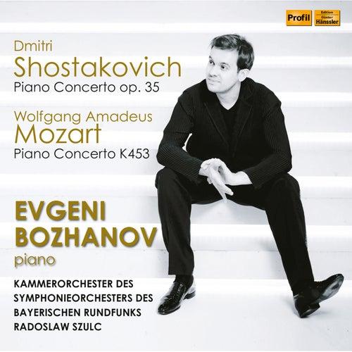 Mozart & Shostakovich: Piano Concertos (Live) de Evgeni Bozhanov