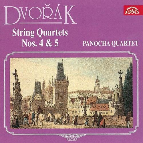 Dvořák: String Quartets Nos. 4 & 5 de Panocha Quartet