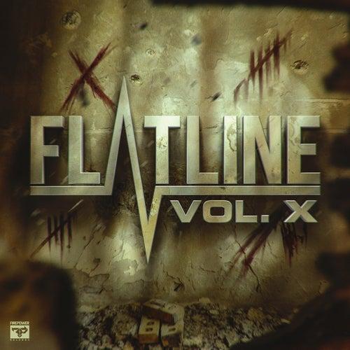 Flatline Vol X by Various Artists