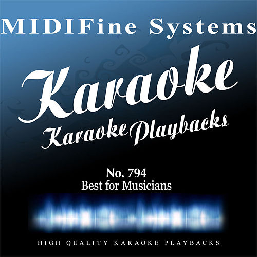 Best for Musicians No. 794 (Karaoke Version) by Various Artists