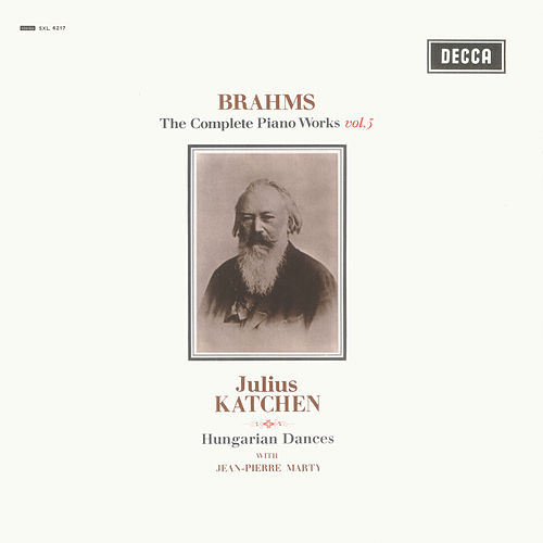 Brahms: Hungarian Dances; Variations on a Theme by Paganini de Julius Katchen