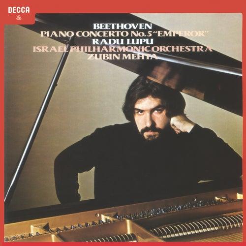 Beethoven: Piano Concerto Nos. 3 & 5 'Emperor' de Radu Lupu