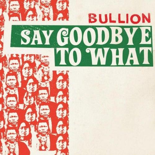 Say Goodbye To What von Bullion