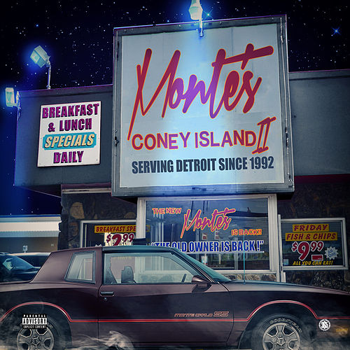 Monte's Coney Island II by Jerry Parker