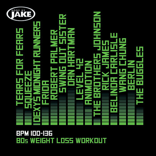 Body By Jake: 80s Weight Loss Workout (BPM 100-136) von Various Artists