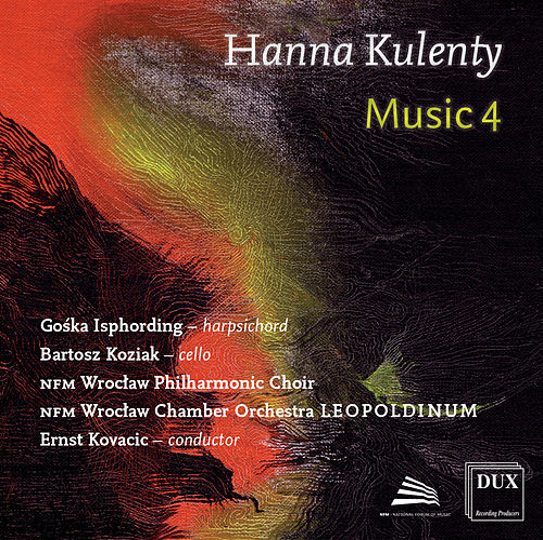 Hanna Kulenty: GG Concerto, Music for Roy, Breathe & Sinequan Forte B von Various Artists