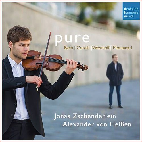 Pure - Works For Violin and Harpsichord By Bach, Corelli, Von Westhoff & Montanari by Various Artists