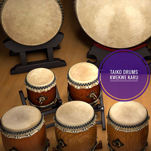 Taiko Drums by Kwekwe Karu