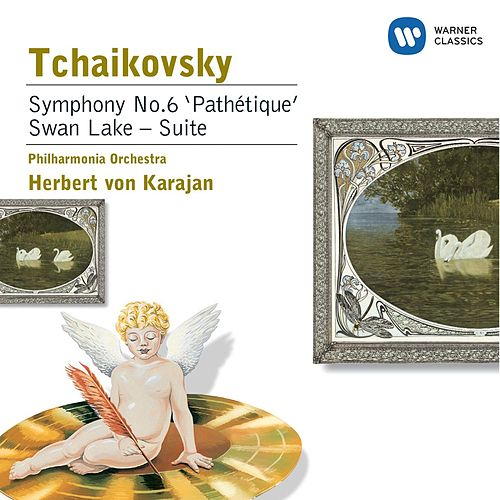 Tchaikovsky: Symphony No.6 in B minor, Op.74 Pathetique, Swan Lake von Philharmonia Orchestra