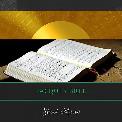 Sheet Music de Jacques Brel