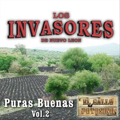 Puras Buenas, Vol. 2 de Los Invasores De Nuevo Leon