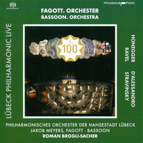 Honegger, A.: Symphony No. 1 / Alessandro, R. D': Bassoon Concerto, Op. 75 (Lubeck Philharmonic Live, Vol. 3) de Roman Brogli-Sacher