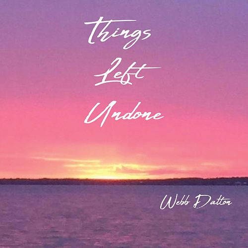 Things Left Undone by Webb Dalton