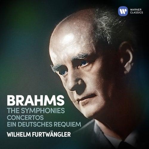 Brahms: Symphonies, Concertos & Ein deutsches Requiem by Wilhelm Furtwängler