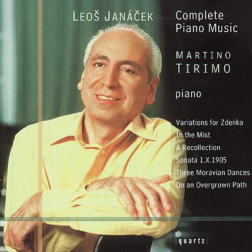 Janáček: Complete Piano Music von Martino Tirimo