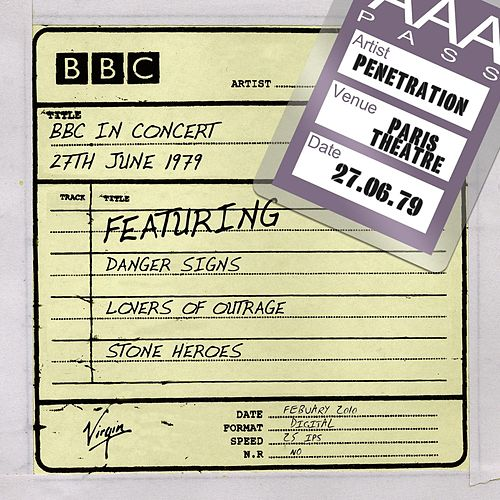 BBC In Concert (27th June 1979) de Penetration