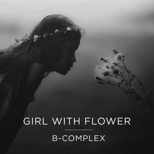 Girl With Flower von B Complex