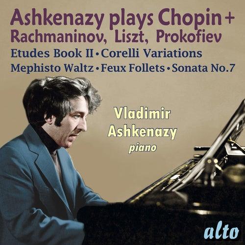 Ashkenazy plays Chopin, Rachmaninov, Liszt, & Prokofiev de Vladimir Ashkenazy