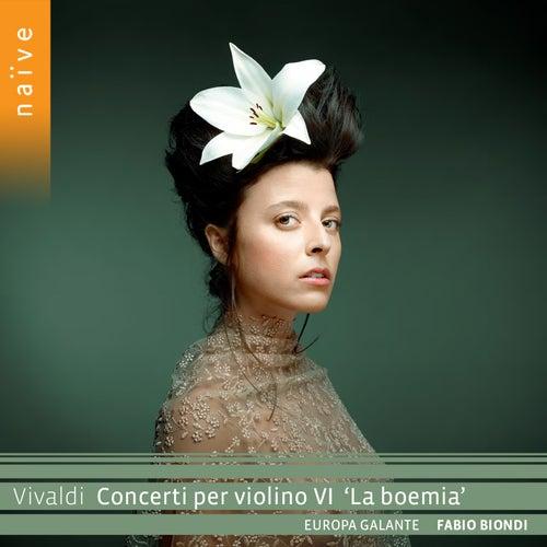 Vivaldi: Concerti per violino VI 'La boemia' di Europa Galante Fabio Biondi