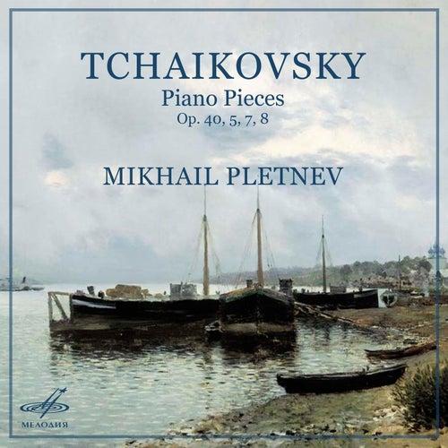 Tchaikovsky: Piano Pieces, Op. 40, 5, 7, 8 de Mikhail Pletnev