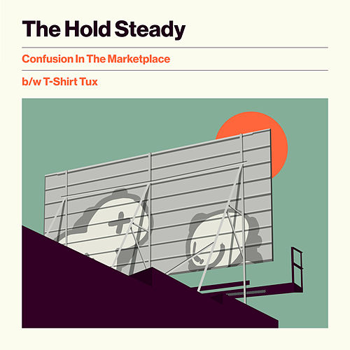 Confusion In The Marketplace b/w T-Shirt Tux de The Hold Steady
