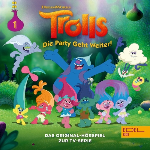 Folge 1: Regen Und Sonnenschein (Das Original-Hörspiel zur TV-Serie) von Trolls