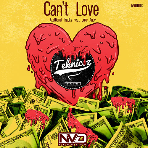 Can't Love - Single de Teknicoz