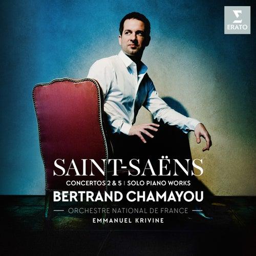 Saint-Saëns: Piano Concertos Nos 2, 5 & Piano Works by Bertrand Chamayou