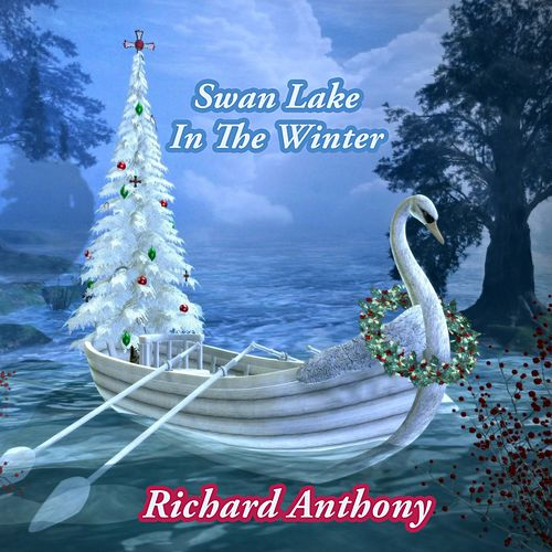 Swan Lake In The Winter by Richard Anthony