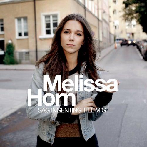 Säg ingenting till mig by Melissa Horn
