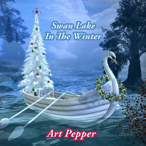 Swan Lake In The Winter by Art Pepper