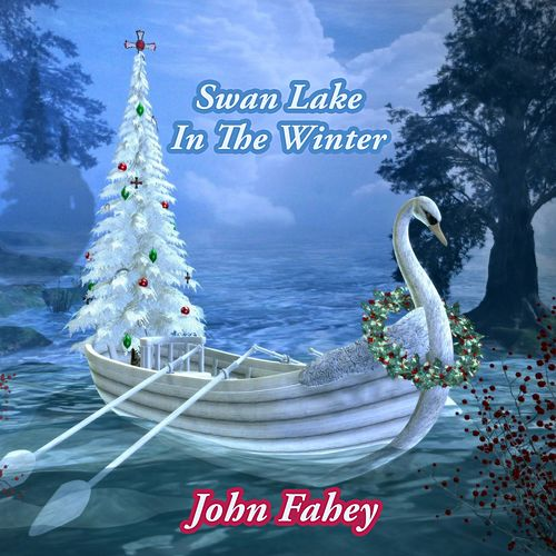 Swan Lake In The Winter by John Fahey