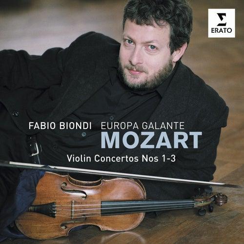 Mozart Violin Concertos 1,2 & 3 de Europa Galante