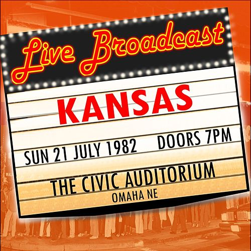 Live Broadcast -  21st July 1982  The Civic Auditorium de Kansas