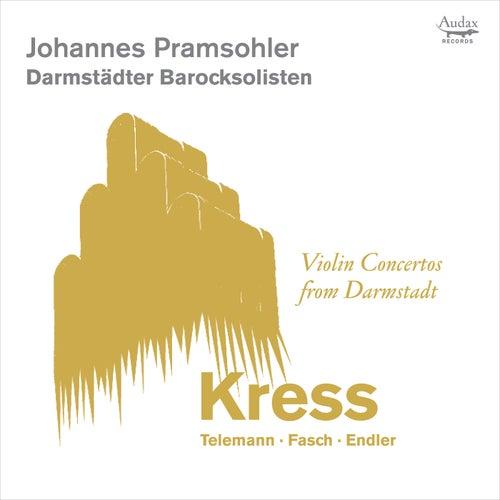 Violin Concertos from Darmstadt by Johannes Pramsohler