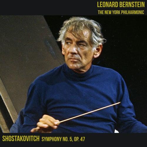 Shostakovitch Symphony No. 5, Op. 47 by Leonard Bernstein, Hildegard Behrens, Peter Hofmann, Yvonne Minton, Bernd Weikl, Hans Sotin, Symphonieorchester des Bayerischen Rundfunks