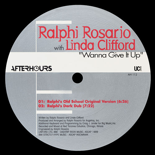 Wanna Give It Up de Ralphi Rosario