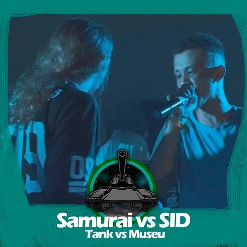Samurai X Sid (Tank vs Museu) de Batalha do Tanque